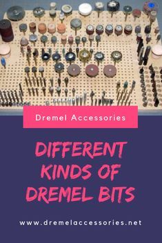 Any Dremel product that you buy will include Dremel bits as part of the package. Dremel bits are also an important part of the Dremel accessories, and are available in several variations, with each bit having its own specific function and use. Dremel Tool Bits, Dremel Bits Guide, Dremel Tool Projects, Dremel Drill, Dremel Rotary Tool, Woodworking Projects, Dremel Ideas, Dremel Tool Accessories, Jewelry Tools