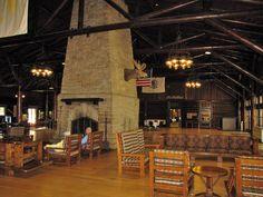 Pere Marquette Lodge interior....Grafton, IL.