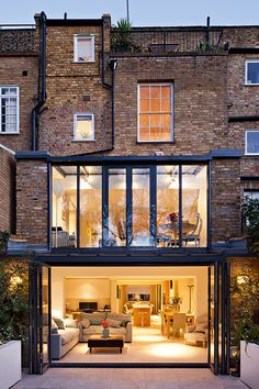 Contemporary glazing extension by Maxwell & Company