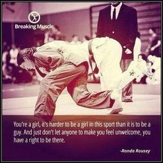 BJJ - Girls are tough too!