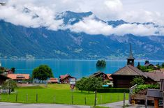 Interlaken and Lake Brienz--First Stop: Iseltwald