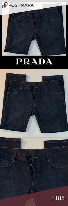 6b3323316d0 Prada 5 Pocket Tailored Fit Jeans (NWOT) New Condition, (NWOT) Flawless