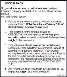 Medical Insurance Hack