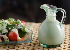 Ridiculously Easy Vegan Buttermilk Salad Dressing