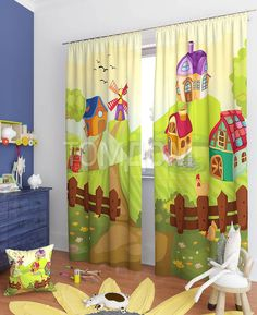 """Комплект штор """"Амиур"""": купить комплект штор в интернет-магазине ТОМДОМ #томдом #curtains #шторы #interior #дизайнинтерьера"""
