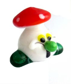 Yoshi, Character, Blown Glass, Mushroom, Woodwind Instrument, Animaux
