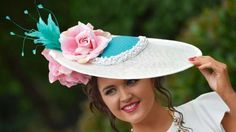 Blooming flowers, animals and patriotism were among the fashion inspirations for race-goers at Brita... - Britain Horse Racing - Royal Ascot - Ascot Racecourse - 16/6/16 Ladies Day Racegoer wears hat Reuter...
