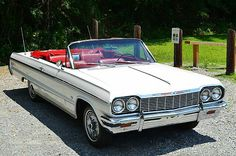 Perfect 1964 SS convertible.