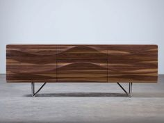 Wooden sideboard with drawers LASTA by Artisan design Ado Avdagić Solid Wood Sideboard, White Sideboard, Modern Sideboard, Solid Wood Furniture, Cool Furniture, Furniture Design, Credenza, Drawer Design, Coffe Table