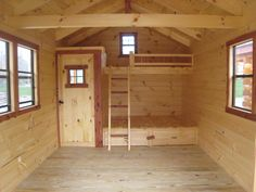 How to build a bunkie with plans The Cottage Life Bunkie not only makes an ideal guest cabin for cottage overflow | Bunkie style ideas | Pinterest | How To ...