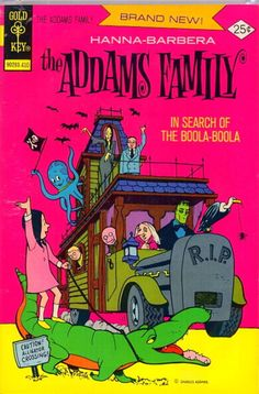 "Gold Key ""The Addams Family"" Comic ~ ""In Search of Boola-Boola"""