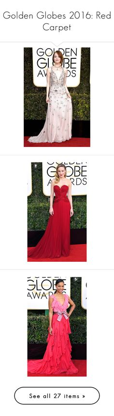 """""""Golden Globes 2016: Red Carpet"""" by polyvore-editorial ❤ liked on Polyvore featuring RedCarpet and GoldenGlobes"""