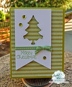 Paper Crafts by Candace: October 2014 Simple Christmas Cards, Xmas Cards, Handmade Christmas, Holiday Cards, Christmas Holidays, Christmas Ideas, Paper Crafts, Card Crafts, October 2014