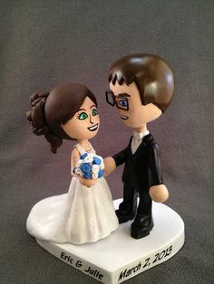 Custom Mii® Cake Toppers by Paul Pape Designs @ Makeably | Hatch.co