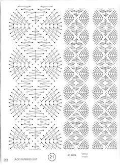 Lace Express 2007-02 - Isabel Delgado - Picasa-Webalben Bobbin Lace Patterns, Tatting Patterns, Doily Art, Bobbin Lacemaking, Old Pillows, Lace Heart, Pillow Quotes, Lace Jewelry, Lace Making