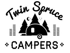 Twin Spruce Campers Logo