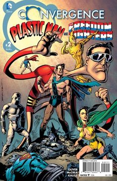 Preview: Convergence: Plastic Man And The Freedom Fighters #2
