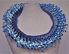 Creative Paper Jewelry Designs by Luis Acosta