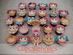lalaloopsy cupcakes...AMAZING!