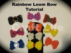 Craft Life Rainbow Loom Bow Tutorial ~ Bow Charm