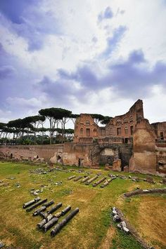 Hippodrome of Domitian, Palatine Hill, Rome