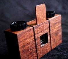 handmade pinhole camera.