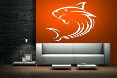 Samolepka na zeď - Žralok SLEVA 15 %