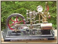 Cretors Model D Popcorn Engine