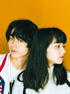 Chiyo and Fenyang? Aesthetic Japan, Aesthetic People, Pretty People, Beautiful People, Nana Komatsu, Japanese Couple, Girl Empowerment, Japanese Models, I Love Girls