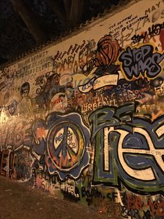 See 2389 photos and 136 tips from 13080 visitors to Lennonova zeď. Prague Czech Republic, Street Art Graffiti, The Dreamers, Traveling, Around The Worlds, Wall, Viajes, Walls, Trips