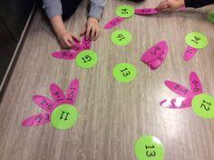 Pin by Lisa Wein on Mathe 1st Grade Math, Kindergarten Math, Teaching Math, Math Math, Preschool Games, Math Games, Math Activities, Year 1 Maths, Busy Boxes