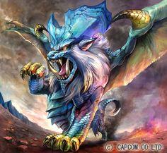 La Lunastra es un brutal Dragón Anciano femenino con aliento de llama y control sobre el fuego. Se dice que este control proviene de las crestas de su cabeza, pero no ha sido confirmado.