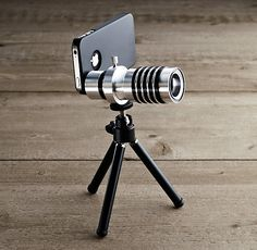 iPhone® 4/4S/5 Zoom Lens & Tripod - Restoration Hardware $49