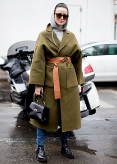 Best Paris Fashion Week Street Style Fall 17   StyleCaster