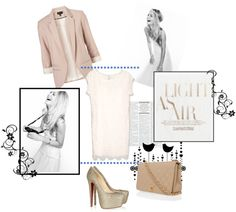 Keeping it Nude, created by ashlips33 on Polyvore