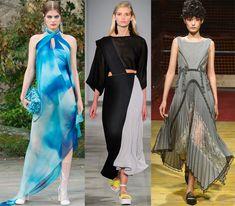 Ассиметричные платья 2018 года