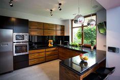 Kitchen Room Design, Kitchen Cabinet Design, Modern Kitchen Design, Home Decor Kitchen, Interior Design Kitchen, Kitchen Furniture, Modern Kitchen Interiors, Modern Kitchen Cabinets, Glass Kitchen