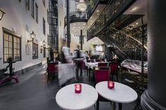 Brasserie Makalös (Hotell Kungsträdgården) - City French Wine, Stockholm, Restaurants, Table Decorations, Furniture, Home Decor, Decoration Home, Room Decor, Restaurant