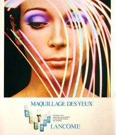 Avenue (Dutch) February 1972,   Maquillage des yeux Lancôme