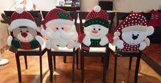 Christmas 2017, Christmas Projects, Merry Christmas, Christmas Decorations, Christmas Ornaments, Holiday Decor, Knitted Booties, Holiday Tables, Ideas Para