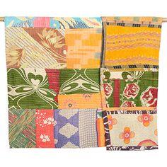 Large Kantha Quilt - Patchwork 54