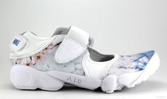 Nike - WMNS Air Rift Print via Cans and Co. - Graffiti and Sneakers. Click on the image to see more!