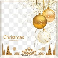 The emperor of the gold christmas decoration PNG and PSD Christmas Gift Background, Christmas Border, Cute Christmas Tree, Christmas Frames, Christmas Bells, Retro Christmas, Adobe Photoshop, Christmas Typography, Christmas Balls Decorations