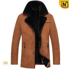 Measure to Made: Shearling Sheepskin Coat for Men CW851255 - www.cwmalls.com