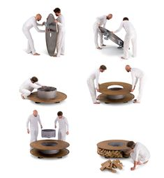 I think I need this explained to me... but looks like a cool fire pit