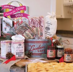 Season's Eatings from the Loveless Cafe - one of Oprah's Favorite Things for 2013