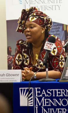 Leymah Gbowee (b. 1972) is a Liberian peace activist, the leader of a movement called Women of Liberia Mass Action for Peace, which helped end the Second Liberian Civil War in 2003. For her efforts, she was awarded the 2011 Nobel Peace Prize, alongside her conational Ellen Johnson Sirleaf.She started her humanitarian efforts working for UNICEF during the First Civil War. She was a volunteer in trying to counsel and rehabilitate former child soldier who had lived through traumatic moments…