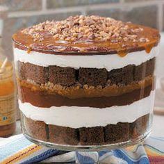 Caramel Chocolate Trifle Recipe