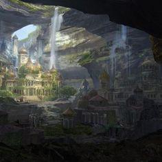venuše, kráterové město