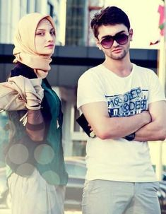 Muslim Boy & Girl
